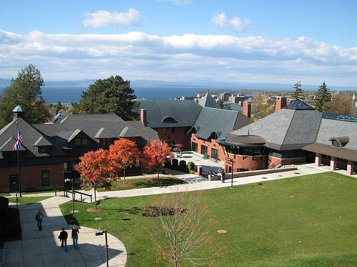 champlain college view library